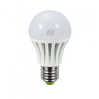 Лампа светодиодная LED-A60-econom 7Вт 220В Е27 3000К 600Лм ASD