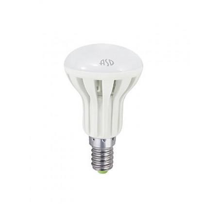 Лампа светодиодная LED-R50-econom 3.0Вт 220В Е14 3000К 250Лм ASD
