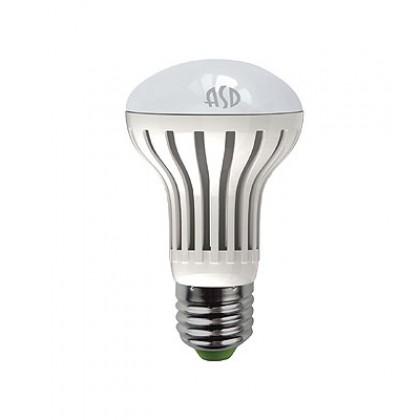 Лампа светодиодная LED-R63-econom 8.0Вт 220В Е27 4000К 650Лм ASD