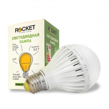Лампа светодиодная Rocket 10W 6000K E27