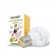 Лампа светодиодная Rocket 4W 3000K E27