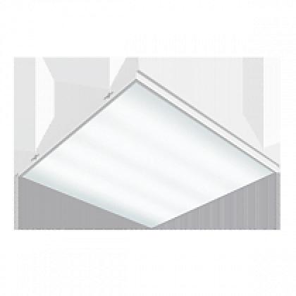 ВАРТОН Грильятто 36Вт 3060Лм 585х585х65мм призм, (4100/6500К) с функцией аварийного освещения