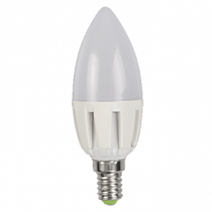 Лампа светодиодная LED-СВЕЧА-standard 5.0Вт 160-260В Е14 4000К 400Лм ASD