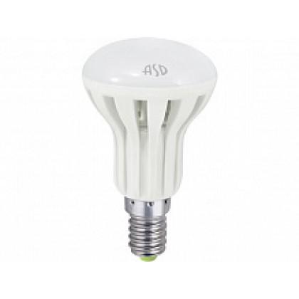 Лампа светодиодная LED-R50-standard 5.0Вт 160-260В Е14 4000К 400Лм ASD