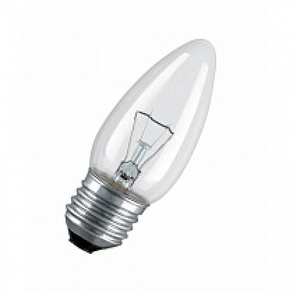 Лампа накаливания СВ B35 60Вт 220В Е27 ПР  630Лм ASD