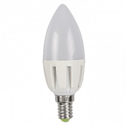Лампа светодиодная LED-СВЕЧА-standard 5.0Вт 160-260В Е14 3000К 400Лм ASD