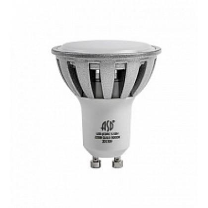 Лампа светодиодная LED-JCDRC-standard 7.5Вт 160-260В GU10 3000К 600Лм ASD