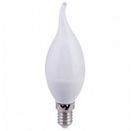 Лампа светодиодная LED-СВЕЧА на ветру-standard 5 Вт 160-260В Е14 3000К 400Лм ASD