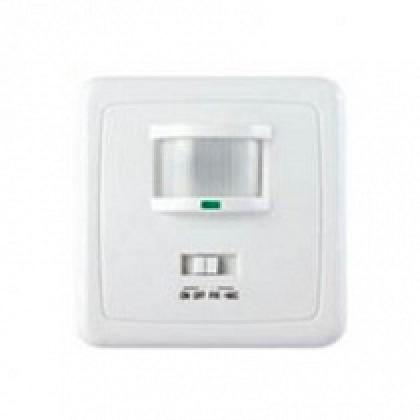 Датчик движения инфракрасный ДД-035-W  500Вт 140 гр,12м IP20 белый ASD