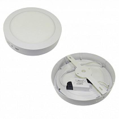 Светильник 18W накладной круглый белый, 225 мм DEKO