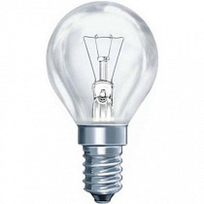 Лампа накаливания ШР P45 40Вт 220В Е14 ПР  380Лм ASD