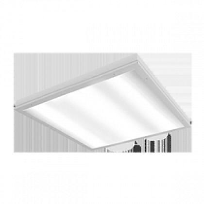 ВАРТОН IP54 27Вт 2200Лм 595х595х55мм опал (2700/4100/6500К) с функцией аварийного освещения
