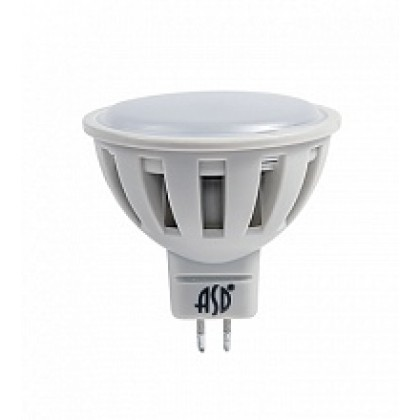 Лампа светодиодная LED-JCDR-standard 7.5Вт 160-260В GU5.3 3000К 600Лм ASD