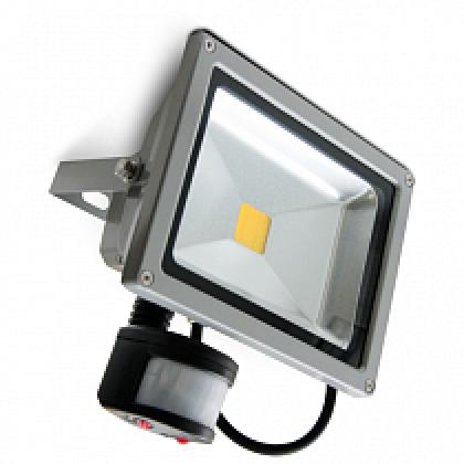 Прожектор светодиодный СДО-2Д-30 30Вт 160-260В 6500К 2400Лм с датчиком движения IP65 ASD
