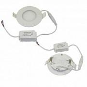 Светильник 3W встраиваемый круглый белый, 5500-6000К, 85 (70) мм (ультратонкий) DEKO