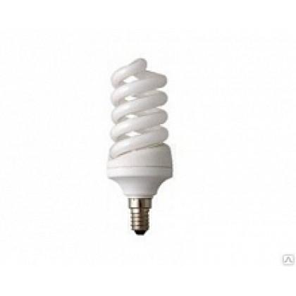 Лампа энергосберегающая SPIRAL-econom  12Вт 220В Е14 2700К 600Лм ASD