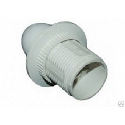 Патрон Е27-ППК пластиковый с прижимным кольцом ASD