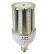 Светодиодная лампа 27W E27 6000-6500К IP64 кукуруза, 2700 Лм, DEKO