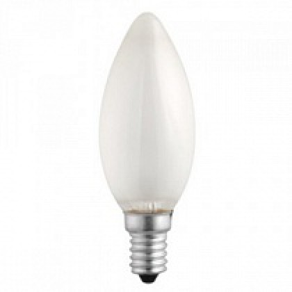 Лампа накаливания СВ B35 40Вт 220В Е14 МТ  380Лм ASD