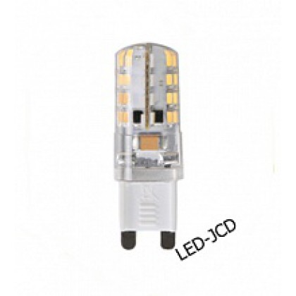Лампа светодиодная LED-JCD-standard 3.0Вт 160-260В G9 3000К 250Лм ASD