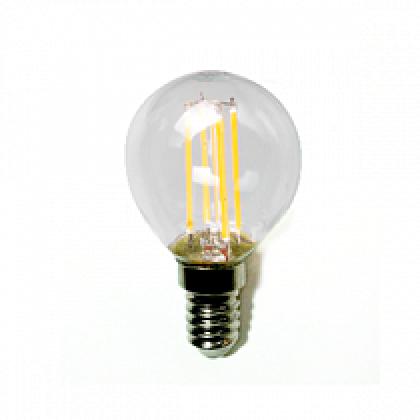 Лампа светодиодная LED-ШАР-PREMIUM 5.0Вт 160-260В Е14 4000К 450Лм прозрачная ASD