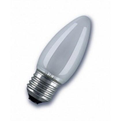 Лампа накаливания СВ B35 60Вт 220В Е27 МТ  630Лм ASD