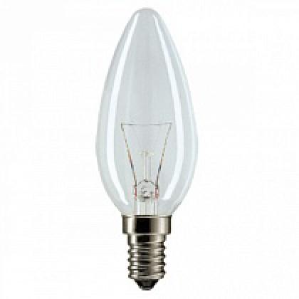 Лампа накаливания СВ B35 40Вт 220В Е14 ПР  380Лм ASD