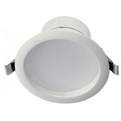 Встраиваемый светодиодный точечный светильник LED Downlight Luna 16W, Shine