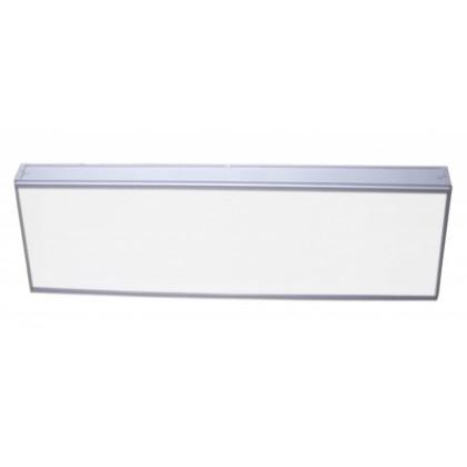 Офисный светодиодный светильник СЭС-01-20 (1200/600 мм, опал, Samsung)