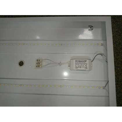 Панель светодиодная LPU-eco ПРИЗМА с ЭПРА