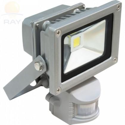 Прожектор светодиодный СДО-2Д-10 10Вт 85-265В 6500К 700Лм IP65 с датчиком движения