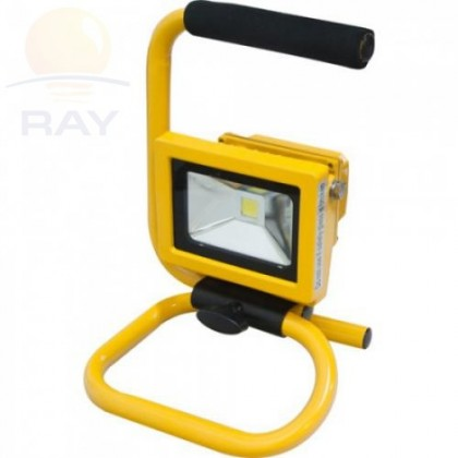Прожектор светодиодный СДО-2П-10 10Вт 220-240В 6500К 800Лм IP65 переносной ASD