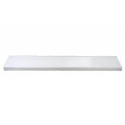 Офисный светодиодный светильник СЭС-01-20 (30 Вт, 1200/200 мм, призма, Samsung)