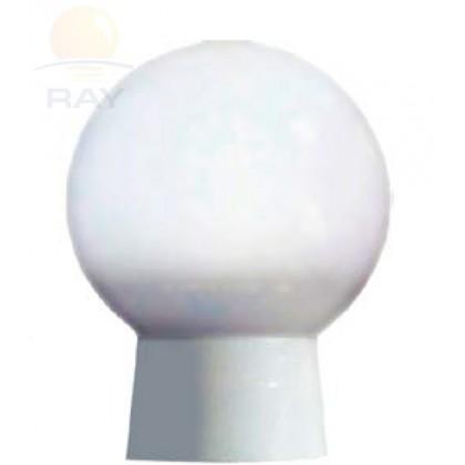Домовой светильник ШАР ЖКХ-04 с датчиком матовый