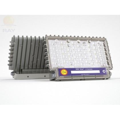 Взрывозащищённый светодиодный промышленный прожектор АТ-ДОК-12/75-220VAC-IP67-EX серия Star