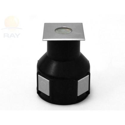 Грунтовый светильник B2AS0106 DC24V 3.6W 30' IP67 H71 (50*50) RGB
