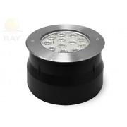 Грунтовый светильник C2V1205 DC24V 18W RGB (3 in1) IP67 d185*H78 (асимметричная линза)