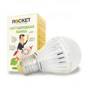 Лампа светодиодная Rocket 6W 3000K E27