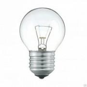 Лампа накаливания ШР P45 40Вт 220В Е27 ПР  380Лм ASD