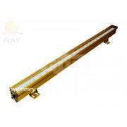 Светодиодный линейный светильник Luxury L1000 P-01 24W 220V IP65 NI (Линза)